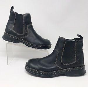 Born Black Chelsea Boots
